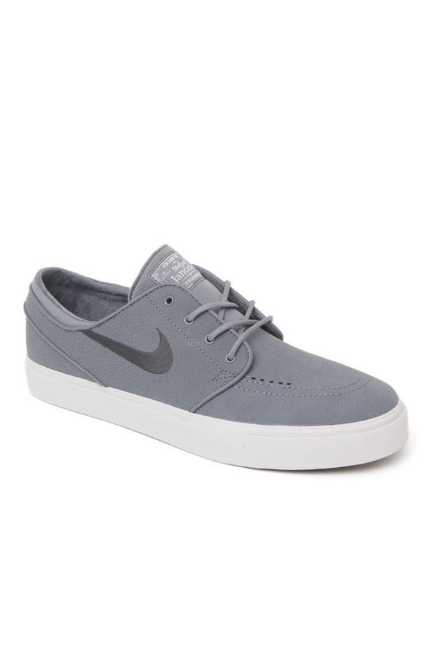 374ef2db28 Nike SB Zoom Stefan Janoski Leather Shoes - Mens Shoes - Gray ...