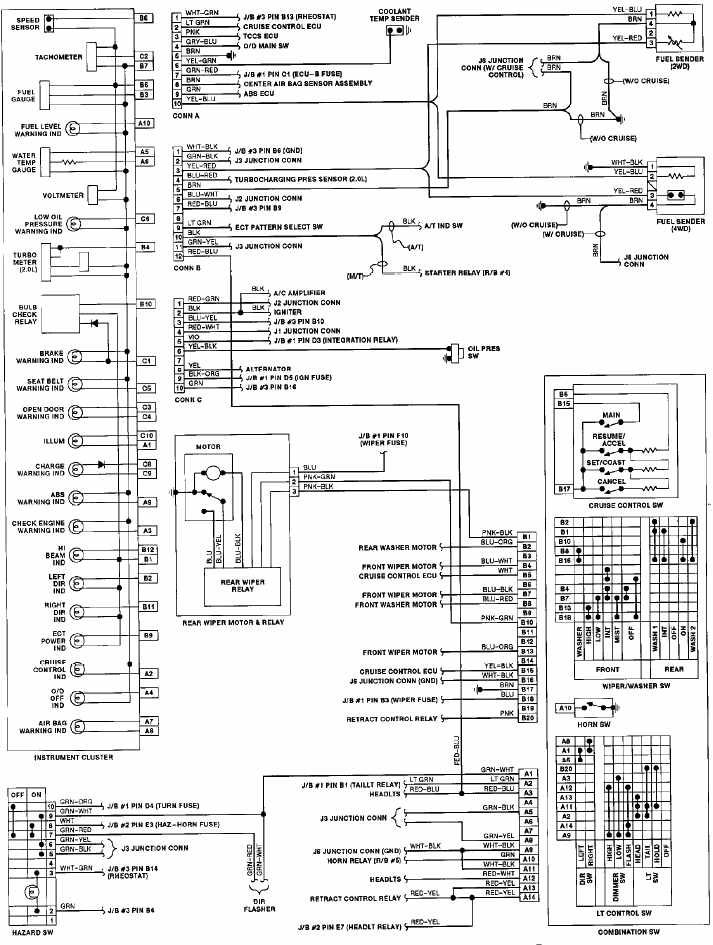 1993 Toyota pickup radio wiring diagram in 2020 (With