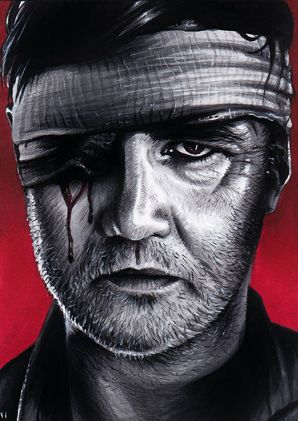 The Walking Dead The Govenor By Trev Murphy On Deviantart Walking Dead Drawings Walking Dead Art Walking Dead Series