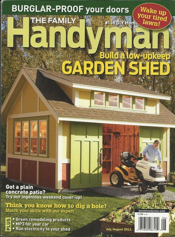 Handyman garden shed garden ftempo for Family handyman phone number