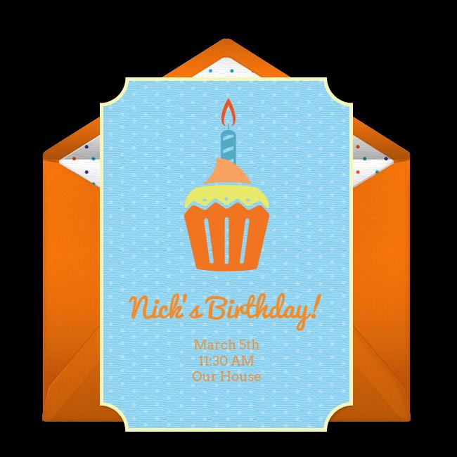Free birthday cupcake invitations cupcake invitations free one of our favorite free birthday party invitations birthday cupcake easily personalize filmwisefo Choice Image