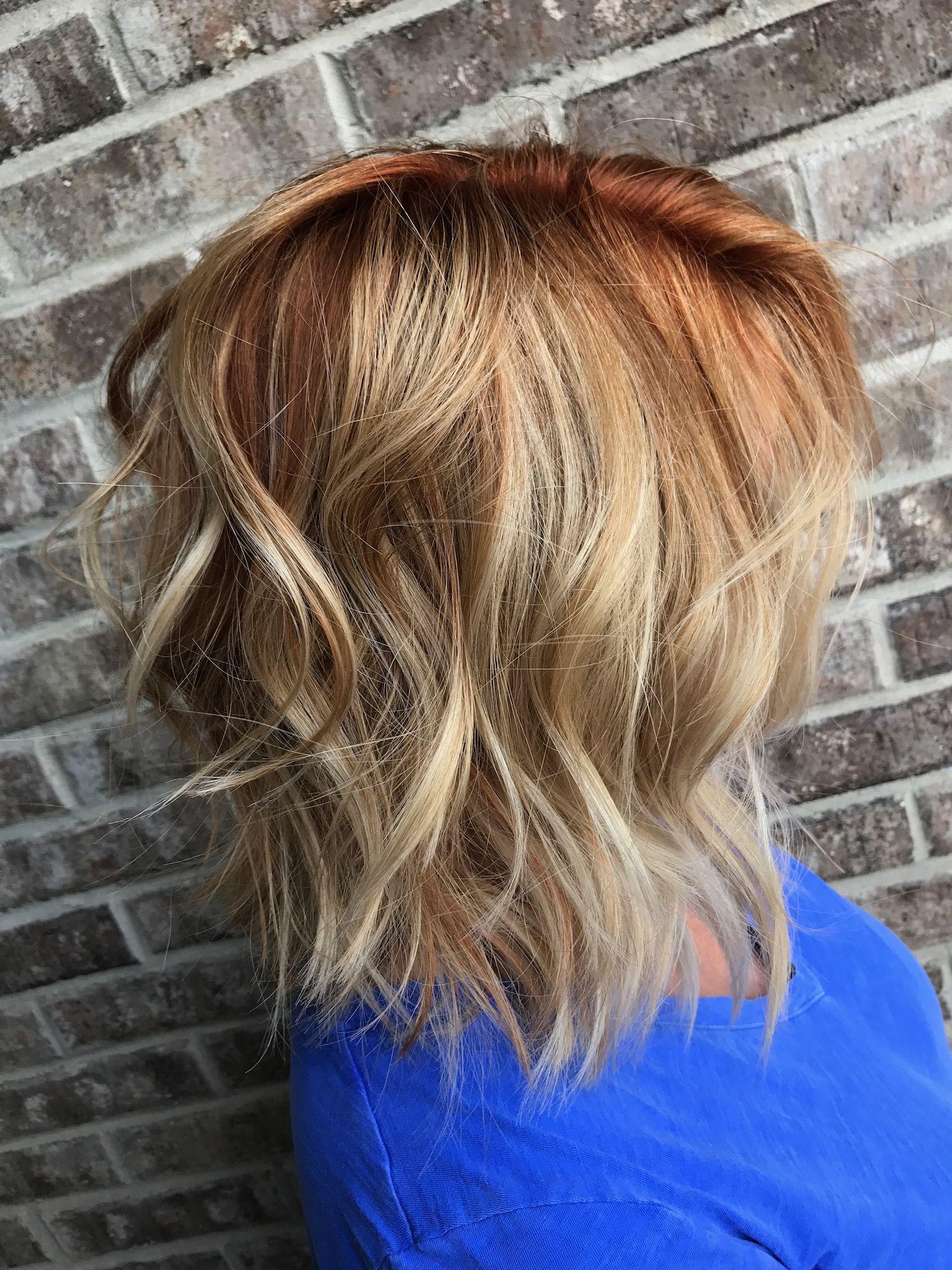 Red hair don't care! Hair by me! @hair_by_shannalorraien