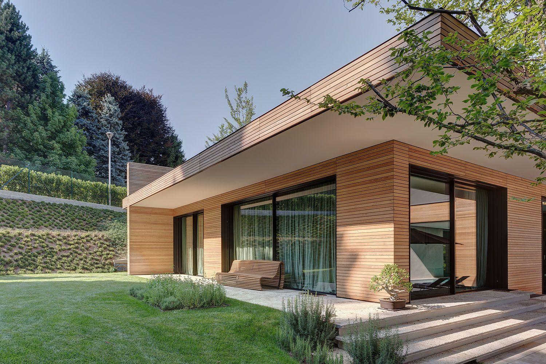 Villa in legno e casa di design casa prefabbricata in legno di lusso struttura portante in - Case moderne bellissime ...