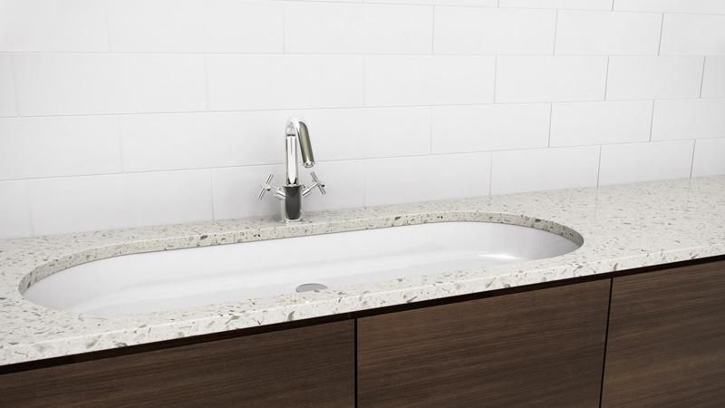 vov836u 36 undermount bathroom trough sink the ove collection rh pinterest co uk
