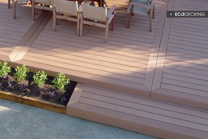 Home decking ideas and space gallery for Decking boards delivered