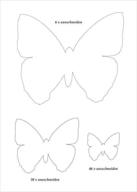 Butterflies | Vorlagen, Ostern und Frühling
