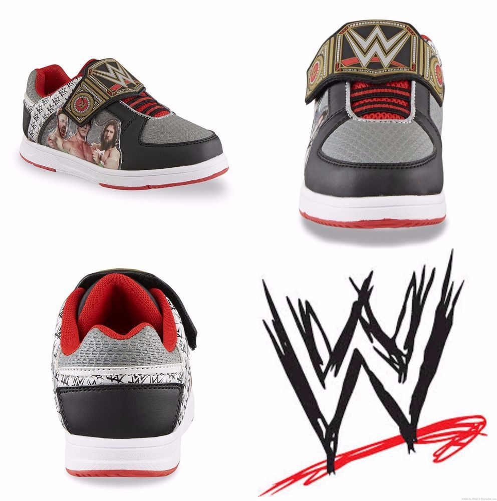 WWE SUPERSTARS JOHN CENA Athletic Shoes Skate Sneakers NWT Boys Szs. 11 - 3   36 in Clothing d26cdd0d9