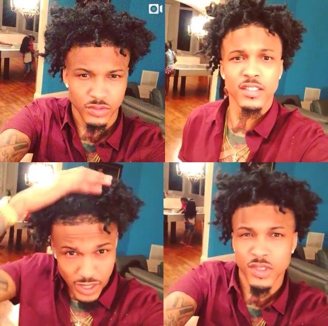 My Baby Auggie Bear☺I Love August Alsina He So Sweet&a