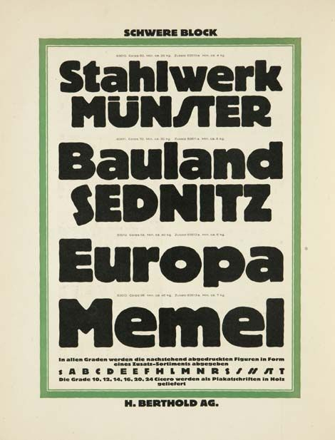 Libros TASCHEN: Type Vol. II, 1901-1938