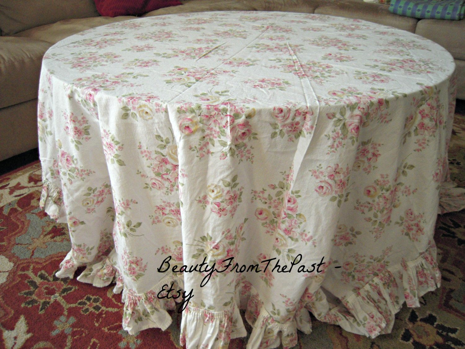 Simply Shabby Chic Tablecloth