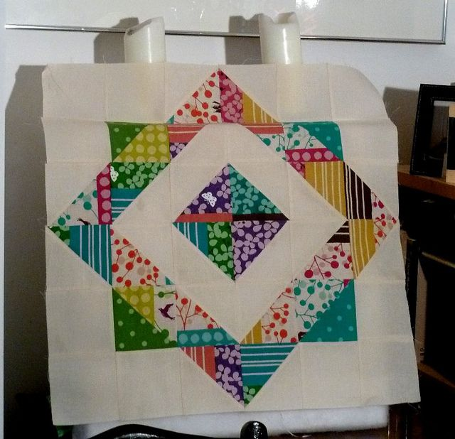 Beautiful block- love how large this one is!