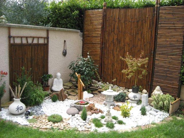 Jardin zen jardines pinterest zen jardins et le nid for Accessoire pour jardin zen