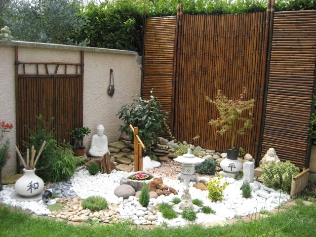 jardin zen jardines pinterest zen jardins et le nid. Black Bedroom Furniture Sets. Home Design Ideas