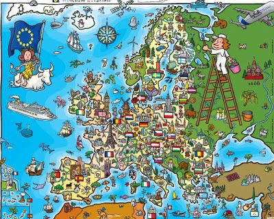 AYUDA PARA MAESTROS: POSTER EUROPA