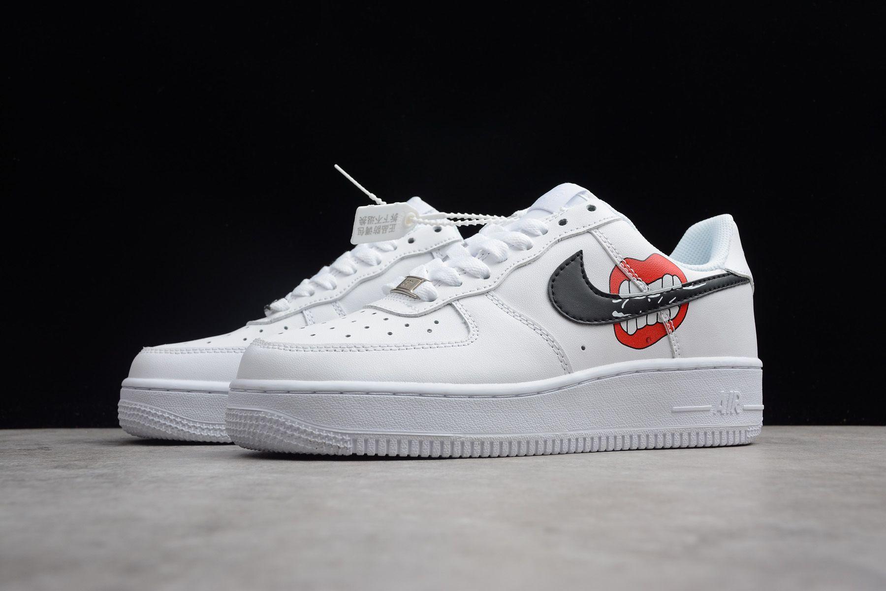 Nike Air Force 1 Low White Black Red Ao3620 108 Nike Air Nike