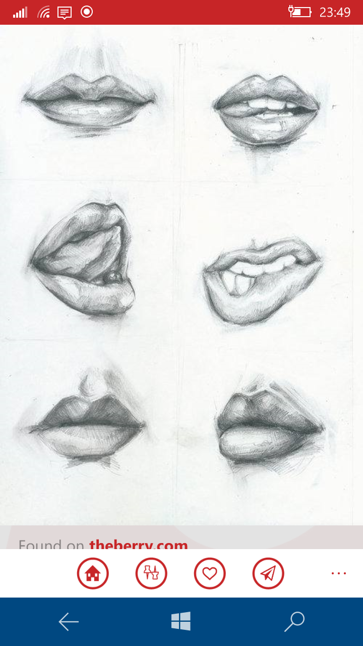 Drawing lips lip drawings drawing faces drawings of mouths drawing women