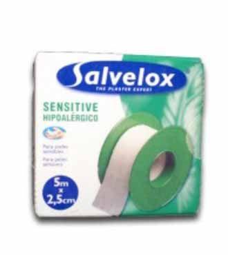 #ESPARATRAPO SALVELOX SENSITIVE 5X2,5./1,80€. todastuscompras.com