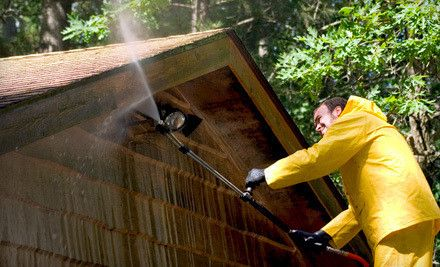 Exterior Power Washing For Home Of Up To 2 000 Or 2 500 Square Feet From As Good As New Llc Up To 67 Off Pressure Washing Home Maintenance Roof Cleaning