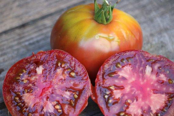 Black Krim Tomato Seeds Heirloom Tomatoes Vegetable 400 x 300