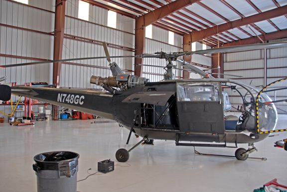 1973 Aerospatiale SA-319B Allouette for sale in the United States => www.AirplaneMart.com/aircraft-for-sale/Helicopter/1973-Aerospatiale-SA-319B-Allouette/11512/