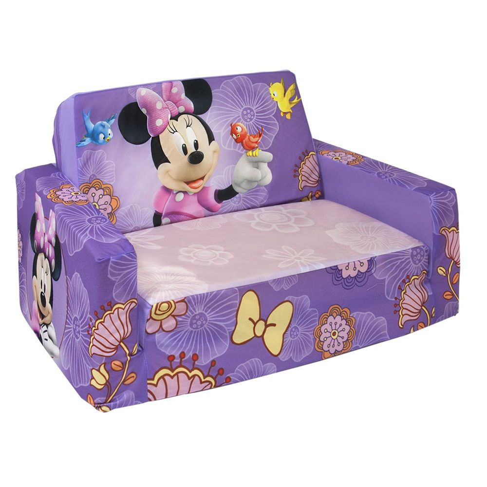 Disneys Minnie Mouse Marshmallow Fun Furniture Flip Open