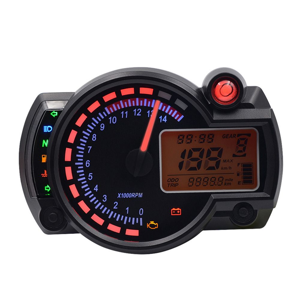Newest 15000rpm adjustable MAX 199KM/H KOSO RX2N similar LCD