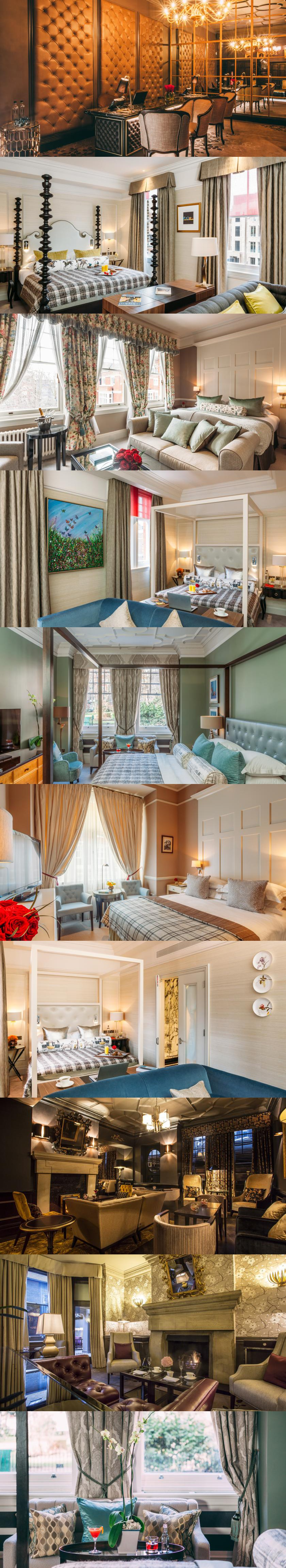 No.11 Cadogan Gardens. A member of Small Luxury Hotels of the World™, this 5-star hotel offers gourmet breakfasts and boutique bedrooms with marble bathrooms. No.11 Cadogan Gardens is just off Sloane Square and a 10-minute walk from Knightsbridge. #London
