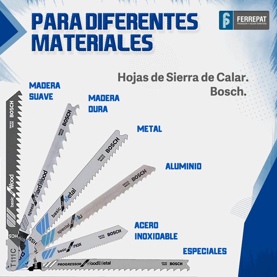 Hojas De Sierra De Calar Bosch Técnicas De Carpintería Clases De Carpinteria Consejos Para Trabajar La Madera
