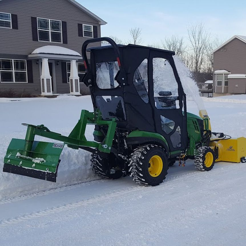 All-Weather Cab for John Deere 1025R, 1026R & 1023E in 2019
