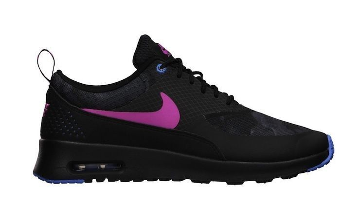 newest 335aa 28070 Achat Nike Air Max Thea - Noir Rose - Femme Chaussures De Course France
