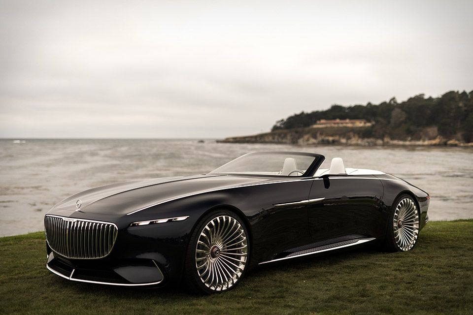 Vision Mercedes Maybach 6 Cabriolet With Images Mercedes