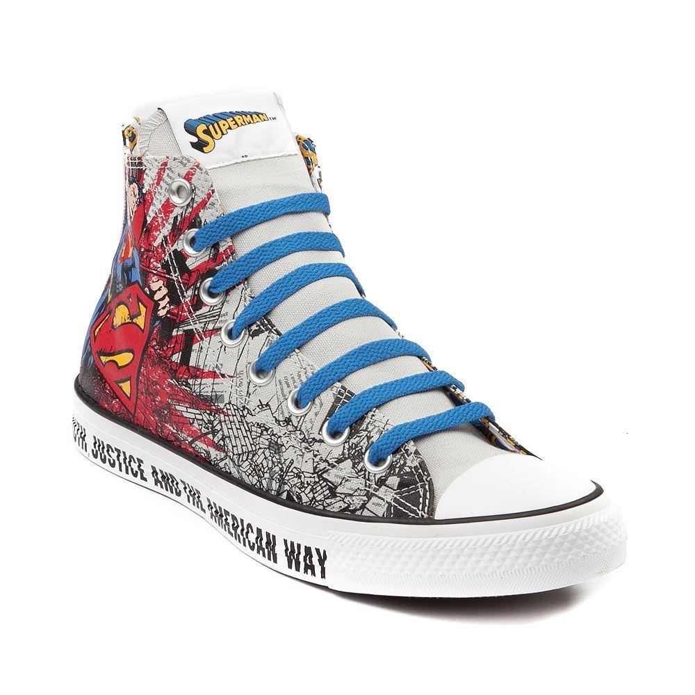 Superman Converse. His wedding shoe ) Crazy shoes