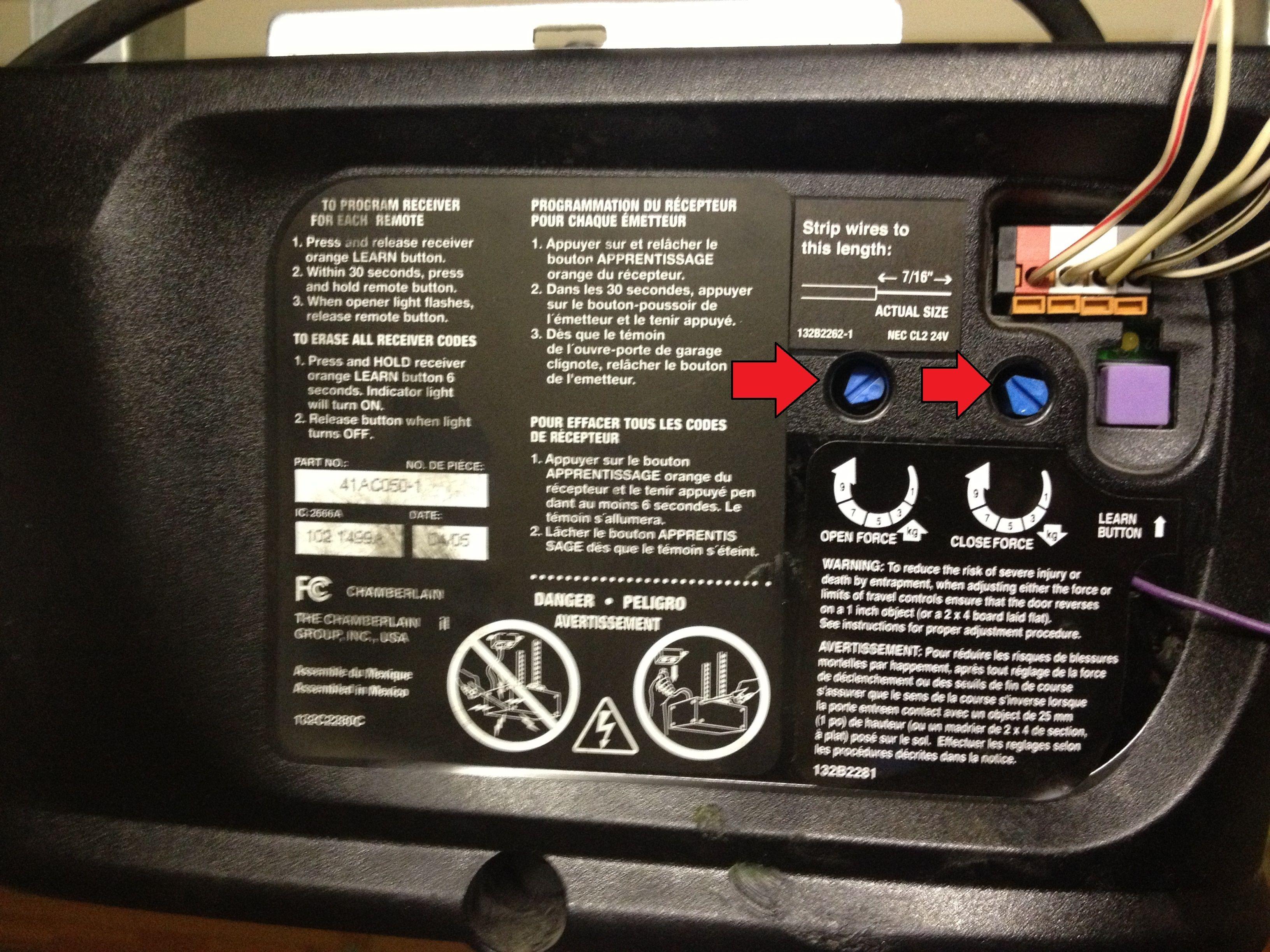 Access Master Garage Door Remote Programming