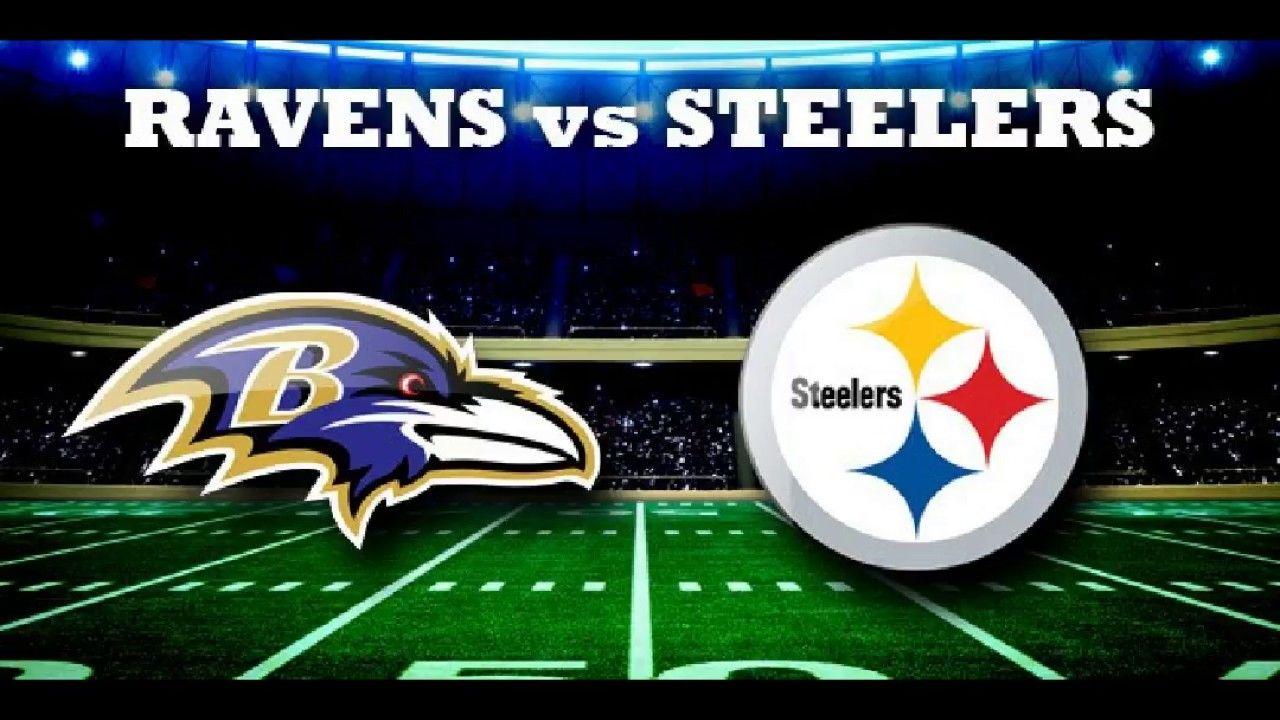 NFL Steelers vs Ravens Live Stream Raven artwork, Nfl