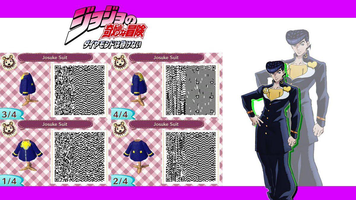 Josuke Acnl Qr Code Animal Crossing Animal Crossing Qr Animal