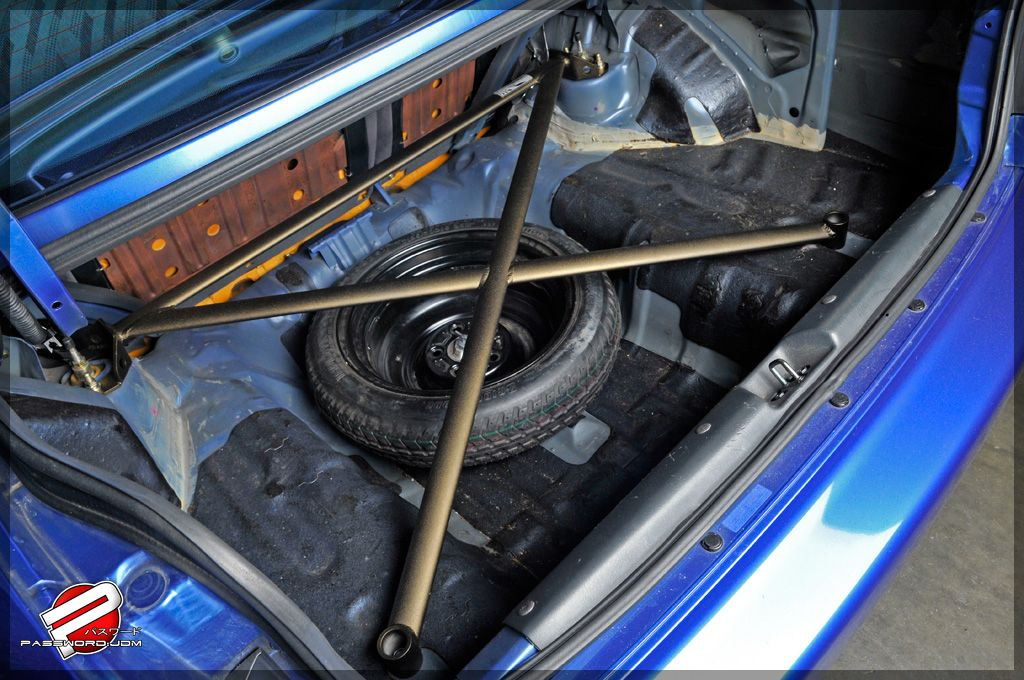 Password:JDM 4 Point Rear Strut Tower Bar 92-00 Civic Coupe