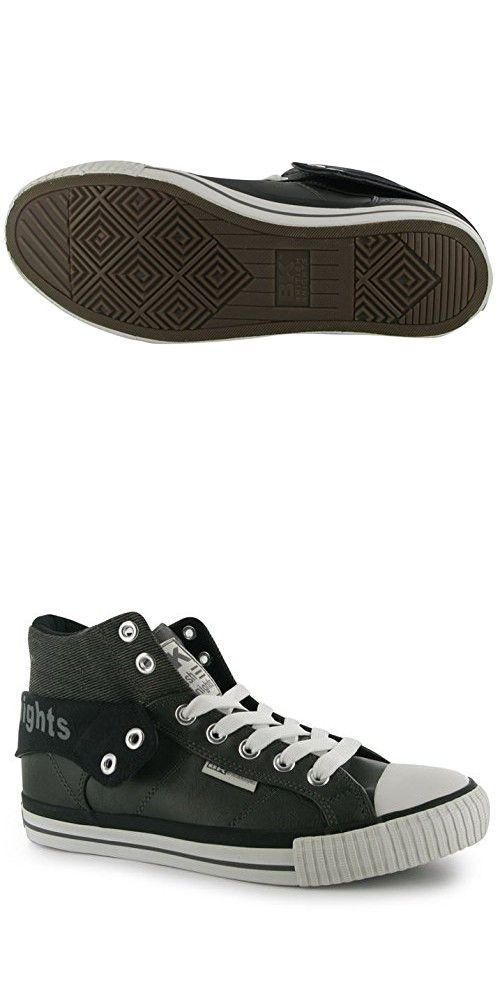 Mens British Knights Roco Fold PU Trainers Shoes (UK 10 / US 11)