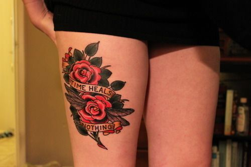 http://tattoo-ideas.us/wp-content/uploads/2013/10/Time-Heals-Nothing.jpg Time Heals Nothing