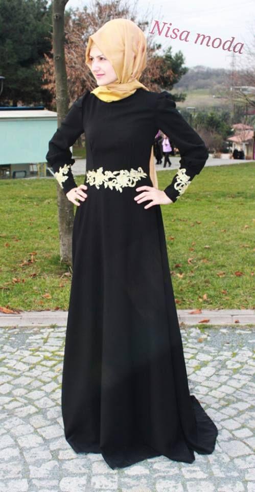 f920d5a973273 Nisa Moda Muhteşem Tesettür Abiye Modelleri (31) | abiye tesettür ...