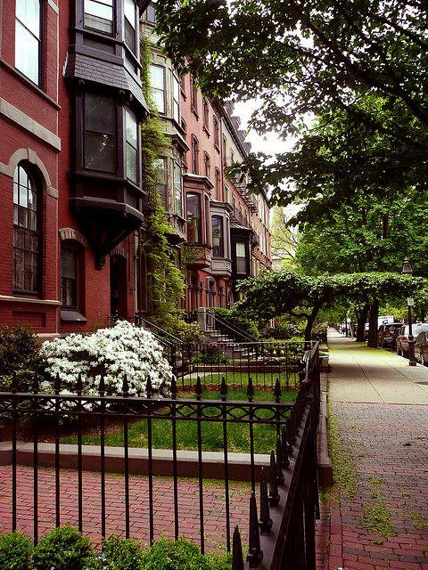 Boston, Massachusetts in Spring