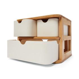 3 Drawer Bamboo Storage Unit 12 Kmart Under Sink Bathroom
