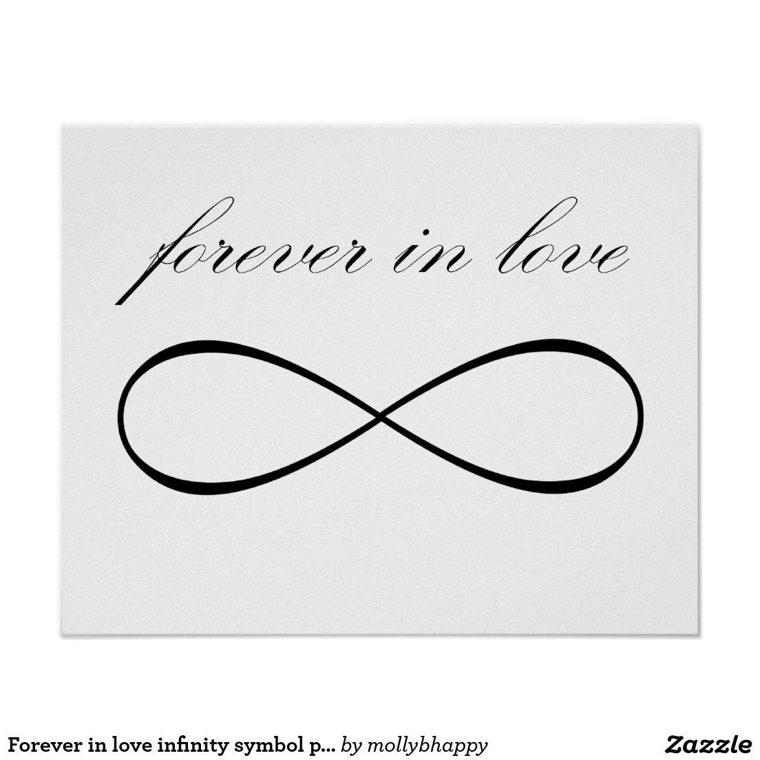 Forever In Love Symbol Tattoo Poster Photo 4 Real Photo