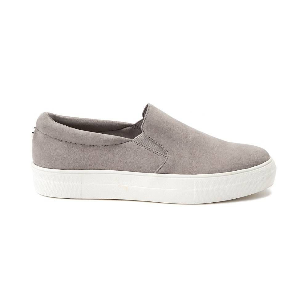 5cfb098bb81 Womens Madden Girl Gemma Slip On Casual Shoe - gray - 132669