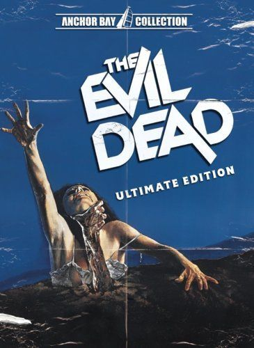 DVD COVER: ULTIMATE EDITION - The Evil Dead (1981) | Best horror movies, Evil  dead movies, Scary movies