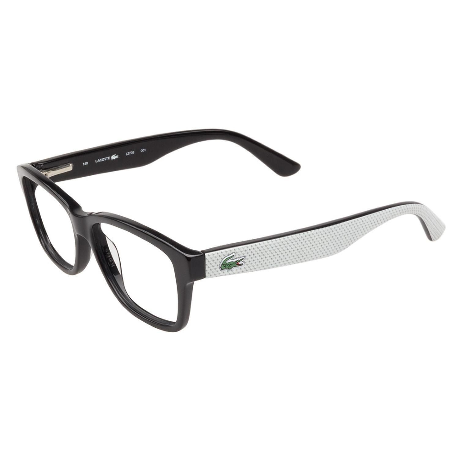 51380df7b6f Lacoste L2709 001 Black Prescription Eyeglasses