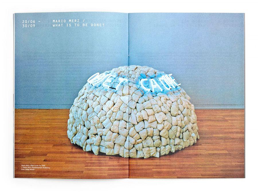 Print by Stockholm Design Lab for Swedish University museum and contemporary arts centre Bildmuseet.