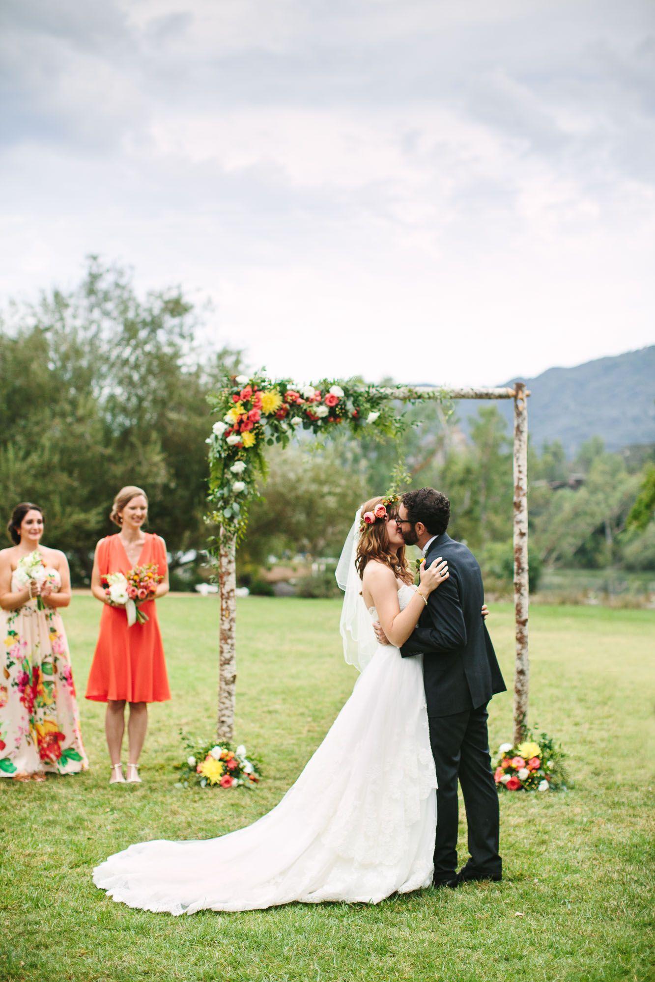 Malibu Canyon Wedding – Mary Costa Photography
