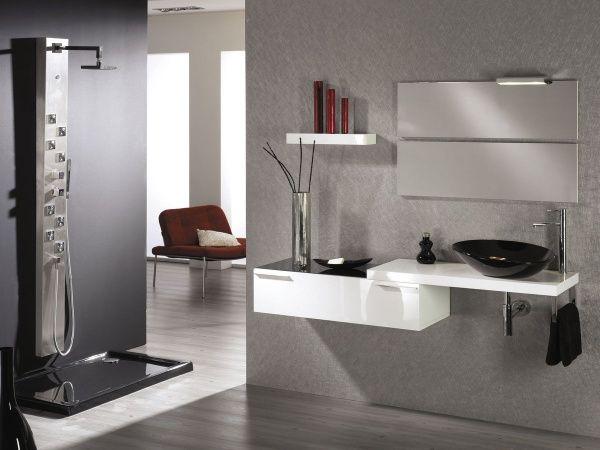 amoblamiento para baño minimalista Muebles de baño Pinterest