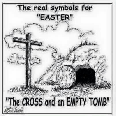 Easter Cross or empty Tomb