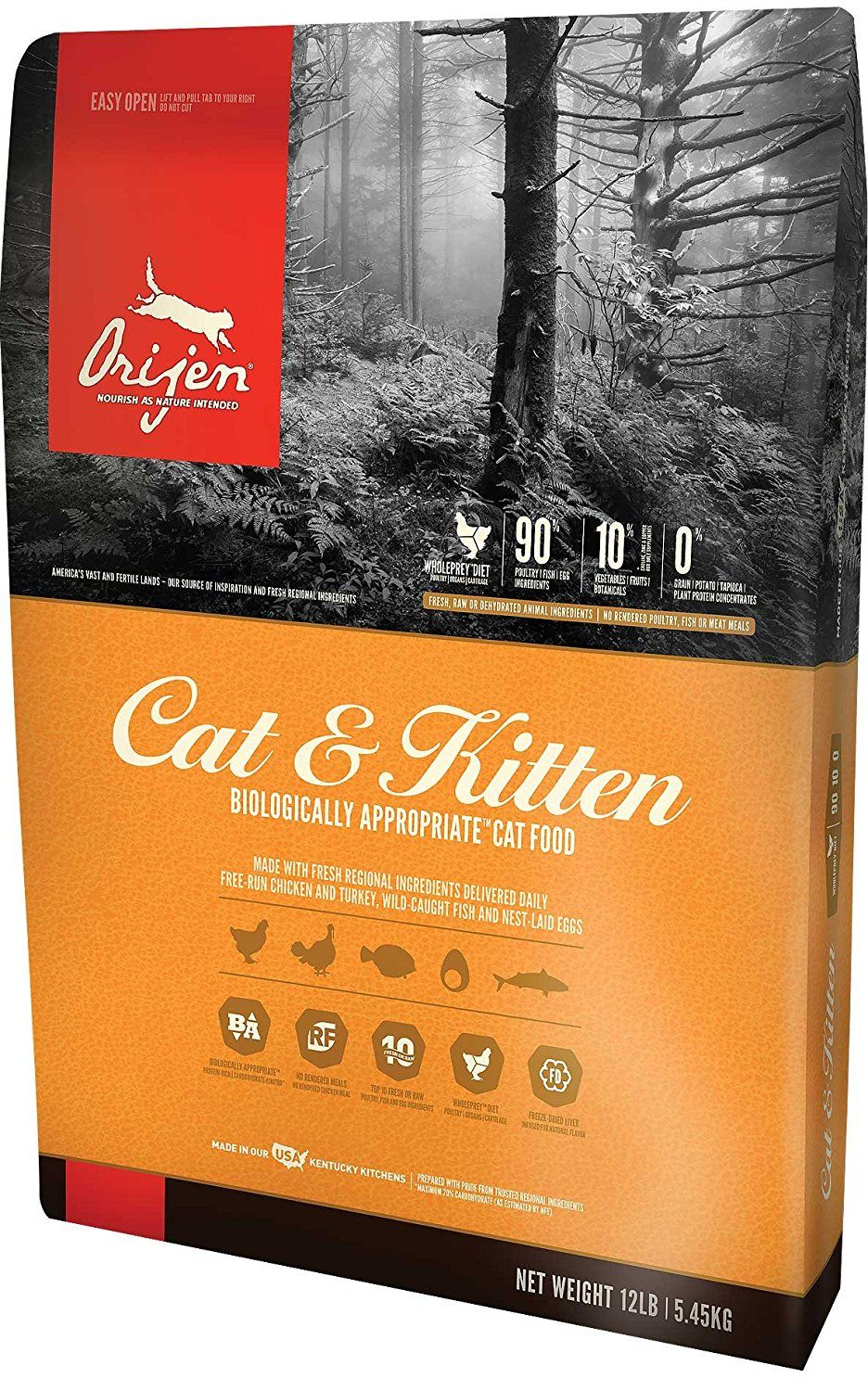 Orijen Cat And Kitten Food Review